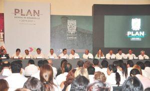 Presentan el Plan Estatal de Desarrollo Campeche 2019-2021