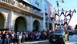 Alistan preparativos para el desfile con motivo del 109 aniversario del inicio de la Revolución Social Mexicana
