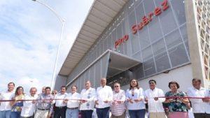 Inaugura Adán Augusto nuevo mercado 'Pino Suárez'