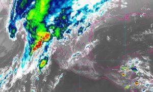 Se prevén lluvias intensas con descargas eléctricas en Baja California Sur, Sonora, Chihuahua, Sinaloa y Durango