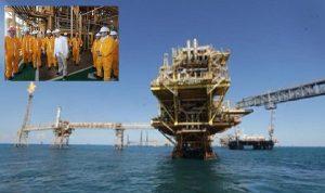 Visito AMLO plataformas petroleras en Campeche