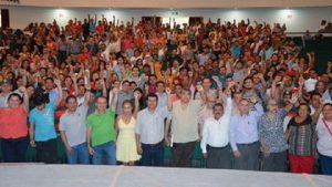 Celebra STAIUJAT 46 años de unidad sindical