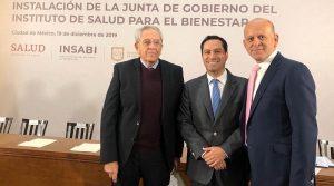 El Gobernador Mauricio Vila Dosal ratifica su compromiso de ofrecer mejores servicios de salud en Yucatán