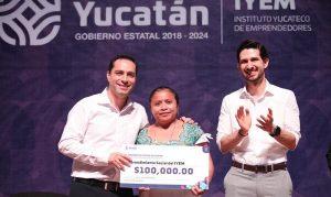 El Gobernador Mauricio Vila Dosal continúa respaldando a los emprendedores yucatecos