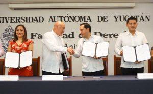 El Gobierno de Yucatán y la UADY suman esfuerzos con los municipios para ofrecer educación universitaria en línea