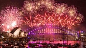 En Australia ya es año nuevo 2020