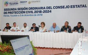 Fortalece el Gobierno de Yucatán sistema de Protección Civil 2020