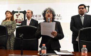 Nueva titular del Poder Judicial de Veracruz promete que no permitirá ninguna actuación arbitraria