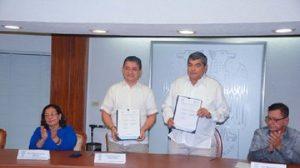 Suman esfuerzos UJAT e IAP a favor de la profesionalización del servicio público