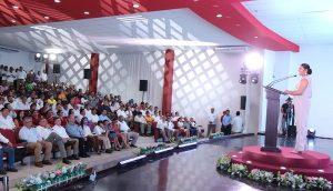 Asiste Adán Augusto a 1er Informe Municipal de Tacotalpa
