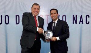 Yucatán, lugar ideal para invertir: Gobernador Mauricio Vila Dosal