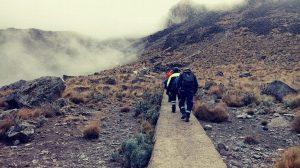Rescatan alpinista en el Pico de Orizaba, Veracruz