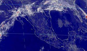 Condiciones atmosféricas estables, cielo despejado y baja probabilidad de lluvia, se prevén en la mayor parte de México