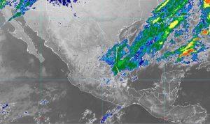 En las próximas horas se prevén chubascos en zonas de Tamaulipas, San Luis Potosí, Querétaro, Hidalgo, Puebla y Veracruz