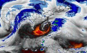 Prevén evento de Norte y oleaje elevado en el sur de Veracruz, Tabasco, la Península de Yucatán, el Istmo y el Golfo de Tehuantepec