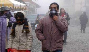 Se desplaza frente frío 26 en el país; provoca ambiente gélido