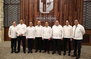 Autoridades federales y Gobernadores de otros estados reconocen trabajo del Gobernador Mauricio Vila Dosal en su primer año de gestión