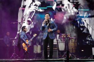 Los Ángeles Azules hicieron bailar a 180 mil asistentes en el inicio de 2020 en la CDMX