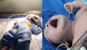 Nacen 2 niños en los primeros minutos de 2020 en hospitales de Veracruz