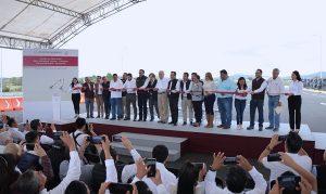 Ponen en operación tramo de autopista Tuxpan – Tampico, en Veracruz