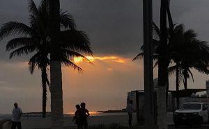 El primer amanecer de 2020 en Veracruz