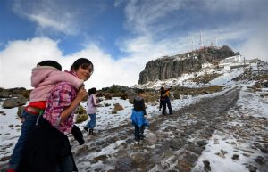 Podría haber heladas el fin de semana en zonas montañosas de Veracruz