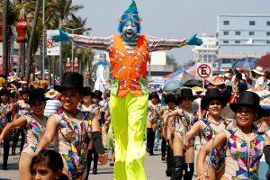 Estas son las vías alternas por cierres viales en el Carnaval de Veracruz