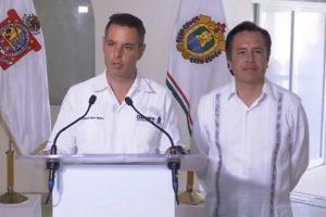 Veracruz y Oaxaca firman convenio para reforzar la seguridad en ambos estados