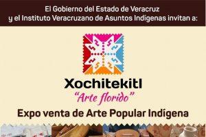"""Realizarán expo venta Xochitekitl """"Arte florido"""" en Xalapa, Veracruz"""