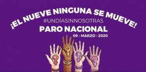 «Un día sin nosotras», convocan a paro nacional por violencia contra las mujeres