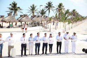 Entrega el Gobernador Mauricio Vila Dosal obras de mejoramiento de la infraestructura e imagen urbana de Progreso
