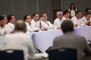 El Gobernador Mauricio Vila Dosal inaugura la Reunión Nacional del Sector Empresarial del Infonavit