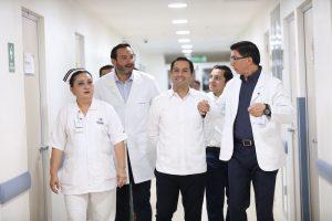 Mejores servicios de salud para los yucatecos en el Hospital General «Doctor Agustín O'Horán»