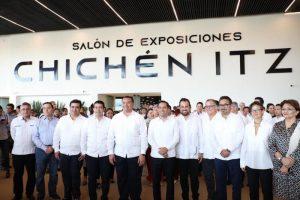 El Gobernador Mauricio Vila Dosal entrega los trabajos de remodelación y ampliación del Centro de Convenciones y Exposiciones Yucatán Siglo XXI