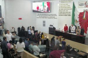 Aprueban agenda legislativa en Tabasco; se comprometen diputados a trabajar