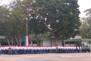 Inicia el Servicio Militar Nacional la clase 2001 en el 37 Batallón de Infantería