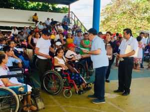 Entregan apoyo a más de 5 mil beneficiarios de programas federales en la Zona Maya