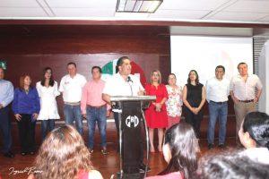 Realiza Dagoberto Lara Sedas nombramientos en el CDE del PRI
