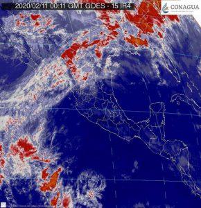 Lluvias, ambiente frío, fuertes rachas de viento y posibles nevadas se pronostican para el noroeste y el norte de México