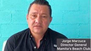 Ofrece empresario disculpas por expulsión de una pareja de playa Mamita's