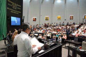 Avanza y se fortalece la FGE con acciones a favor de la Procuración de Justicia: Fiscal General del Estado Mtro. Óscar Montes de Oca Rosales