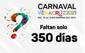 Ya hay fecha para el Carnaval de Veracruz 2021