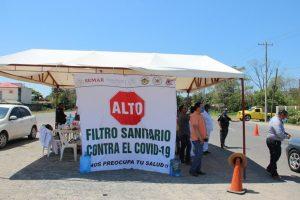 Instalarán en Tabasco 3 filtros sanitarios más en carreteras por brotes de COVID 19