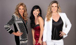 Adela Micha, Susana Zabaleta y Rebecca de Alba, juntas en Veracruz