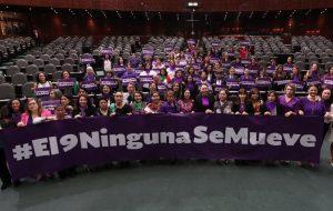 Apoyan diputadas federales paro nacional de mujeres