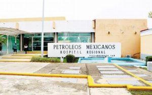 Dan alta a dos pacientes infectados con medicamento contaminado en Hospital de Pemex en Villahermosa