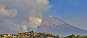 Se incendia el Pico de Orizaba en la parte de Puebla
