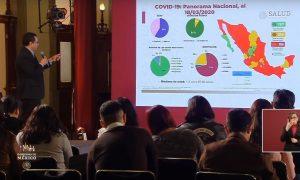 Suman 118 casos de coronavirus en México