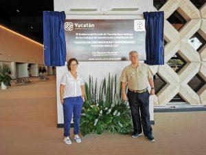 El Centro de Convenciones y Exposiciones Yucatán Siglo XXI, quedó como un recinto de primera: secretario de Turismo federal, Miguel Torruco Marqués