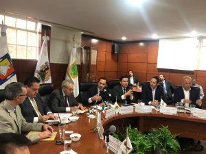 El Gobernador Mauricio Vila Dosal revisa con funcionarios federales avances, protocolos y estrategias de salud